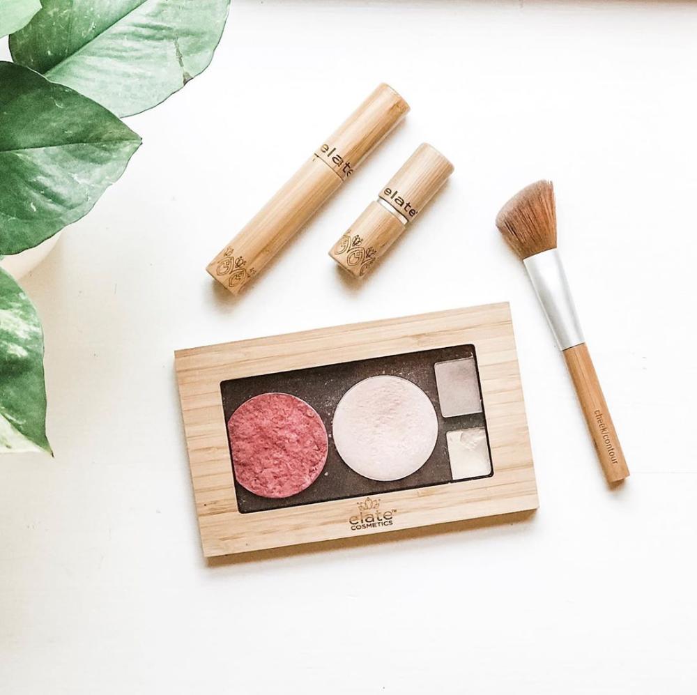 Elate Cosmetics zero waste makeup zerowastewednesday by