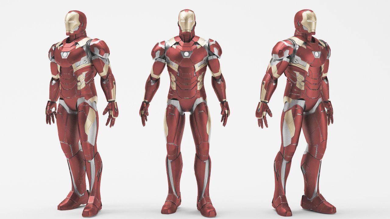 Iron Man Mark 46 Game Ready Mark Man Iron Ready Iron Man Finger Tattoo Designs Man
