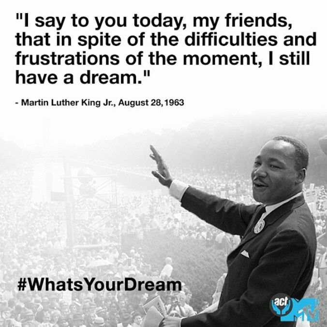 Martin Luther King | Mlk quotes, I have a dream speech ...