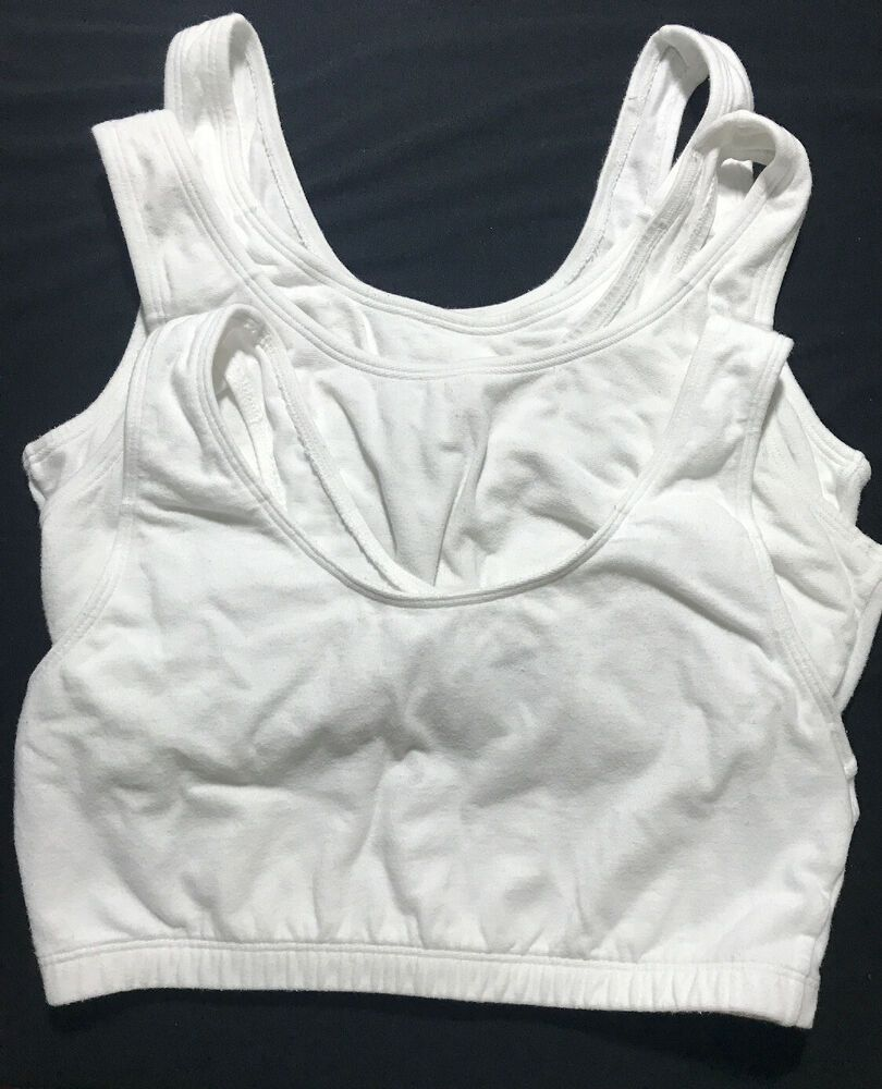Fruit Of The Loom Full Coverage Sports Tank Lot of 3