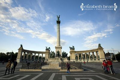 Heroes' Square ~ Budapest, Hungary