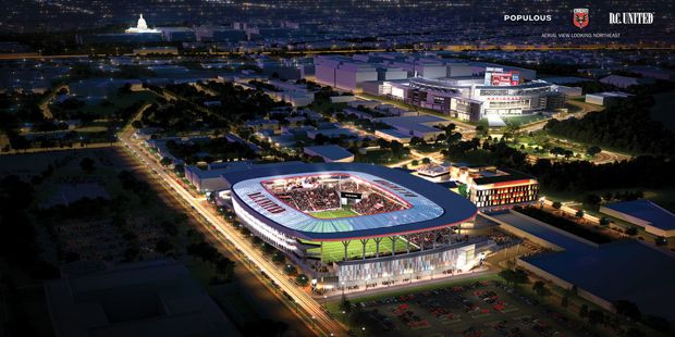 The District Will Build a Soccer Stadium, But First It Has to Figure Out the Money #DCUnited #DCsports | Sports | Washingtonian