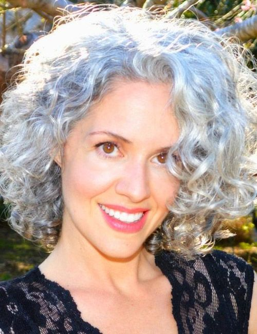 50 hair styles curly hairstyles for grey hair best hair styles 1510