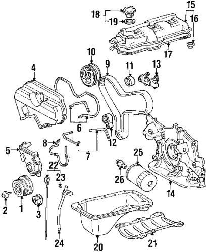Toyota Alternator Adjust Bracket 1638121030 Scion Xa Xb Toyota Yaris