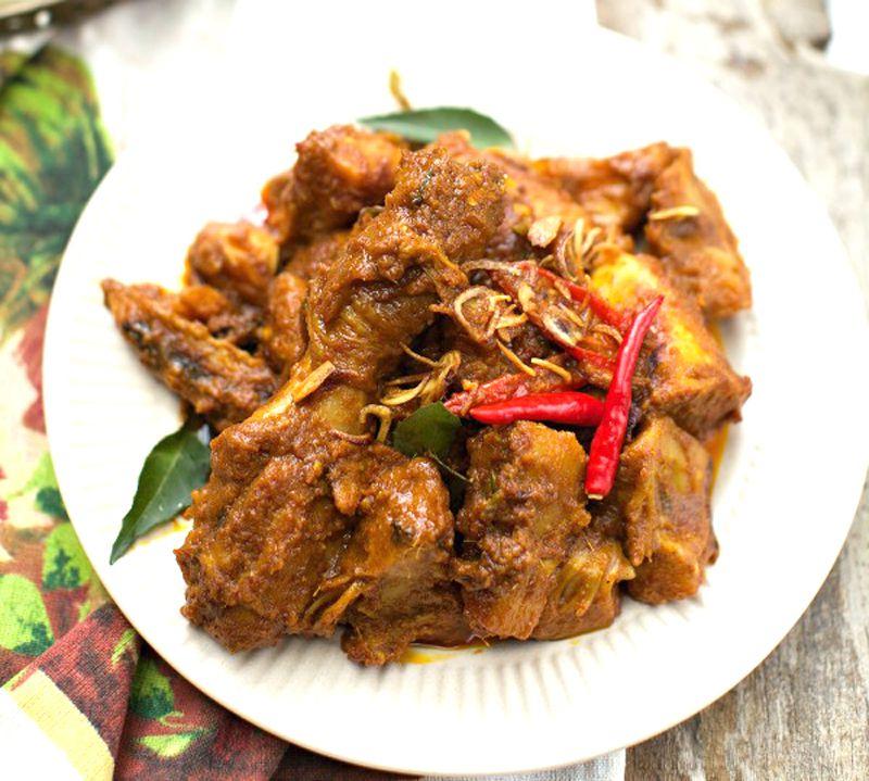 Resepi Rendang Ayam Kelantan Sedap Tube Recipe Kelantan Food Recipes