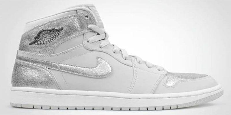 the incredible Air Jordan Silver Shoe