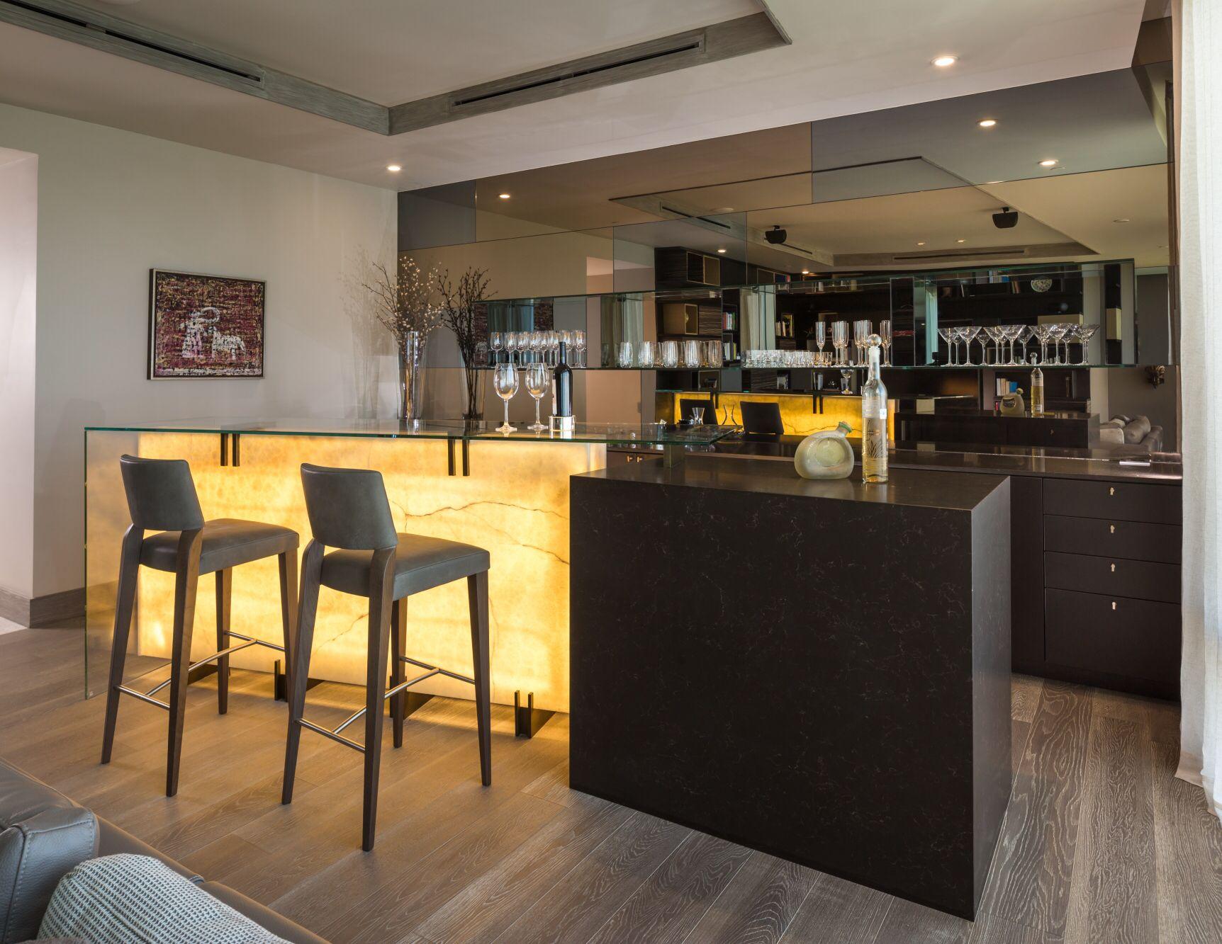 Dise o de bar en rea social se dise una barra especial - Barras de minibar ...