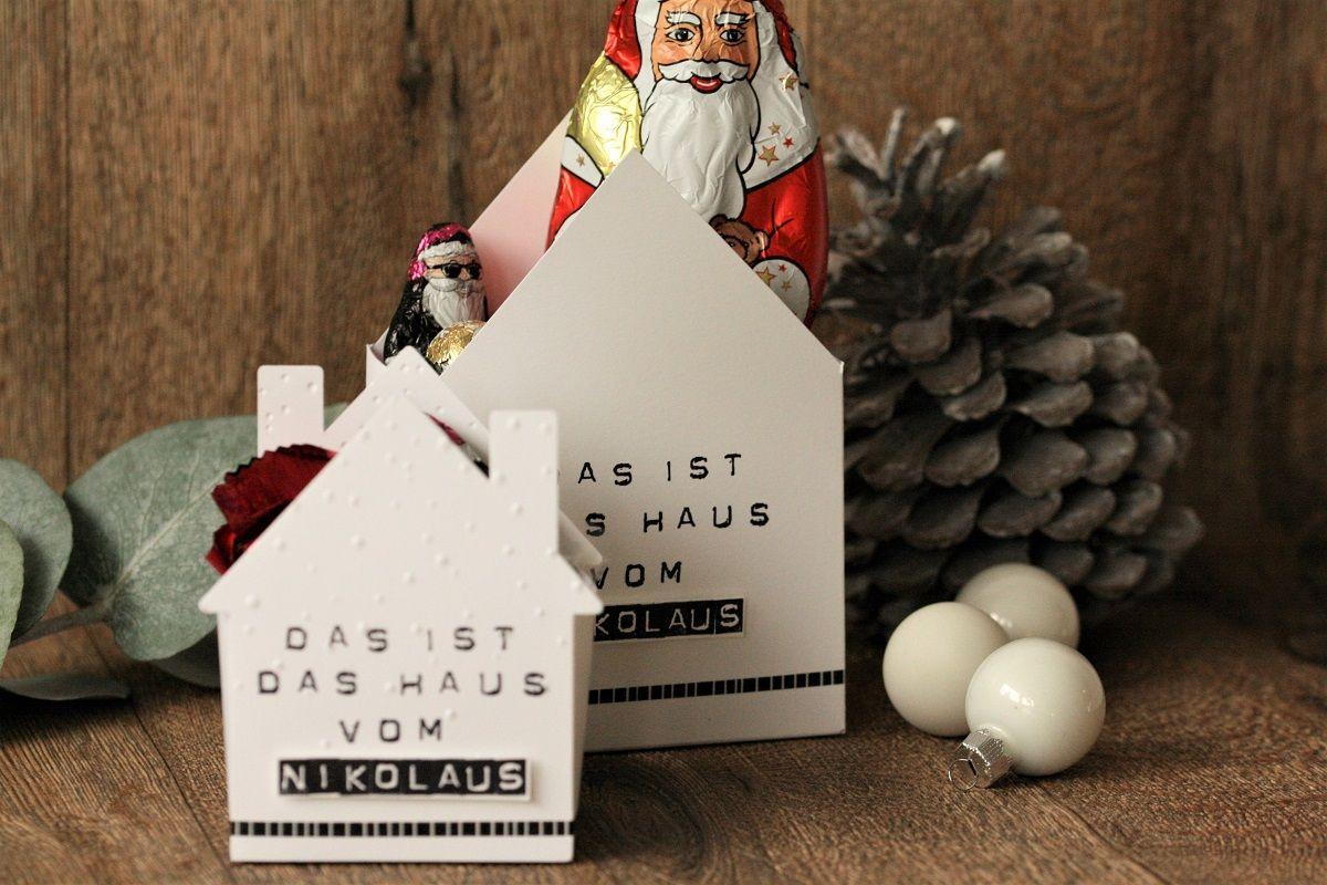 Das Haus vom Nikolaus | Danielas Stempelwelt #nikolausgeschenk