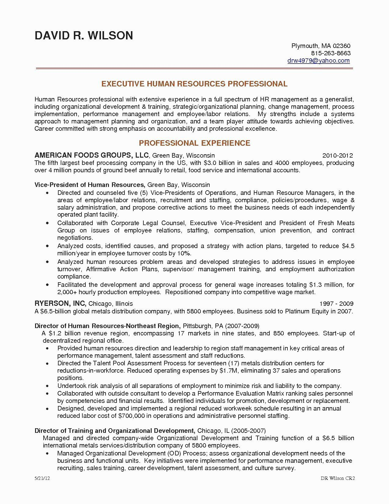 Human Resources Resume Objectives 40 Human Resources Recruiter Resume Sample Resume Objective Examples Resume Examples Project Manager Resume