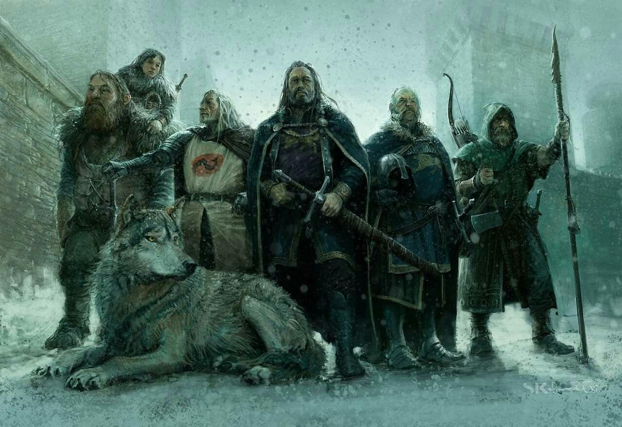 Artwork By Stefan Kopinski Starks Heroes A Game Of Thrones