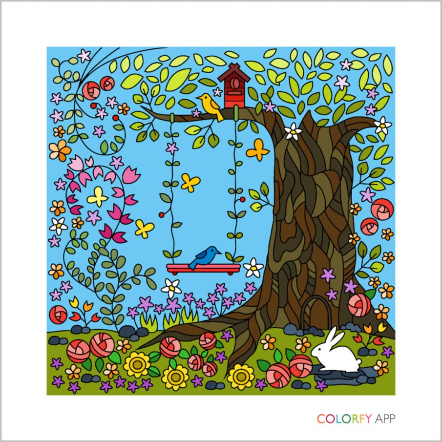 Colorfy coloring book for adults free online - Colorfy Coloring Book For Adults On The App Store