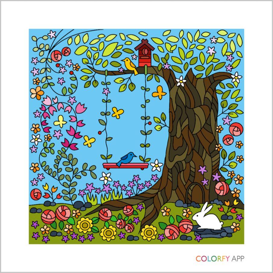 Gardens Volume 2 Crisbel Perez Colorfy App Colorful Art Colorfy Art