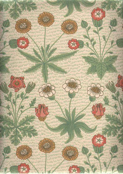 William Morris Daisy William morris wallpaper, Morris