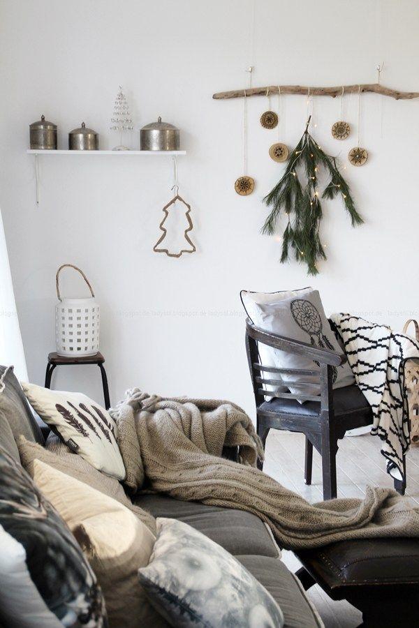 Die Familie hält mich für durchgeknalltfriedvolle Weihnachten - Deko Fürs Wohnzimmer