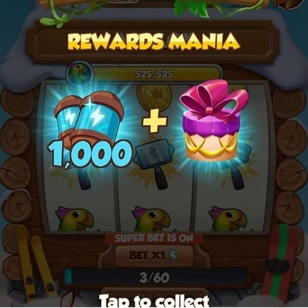 spin rewards coin master