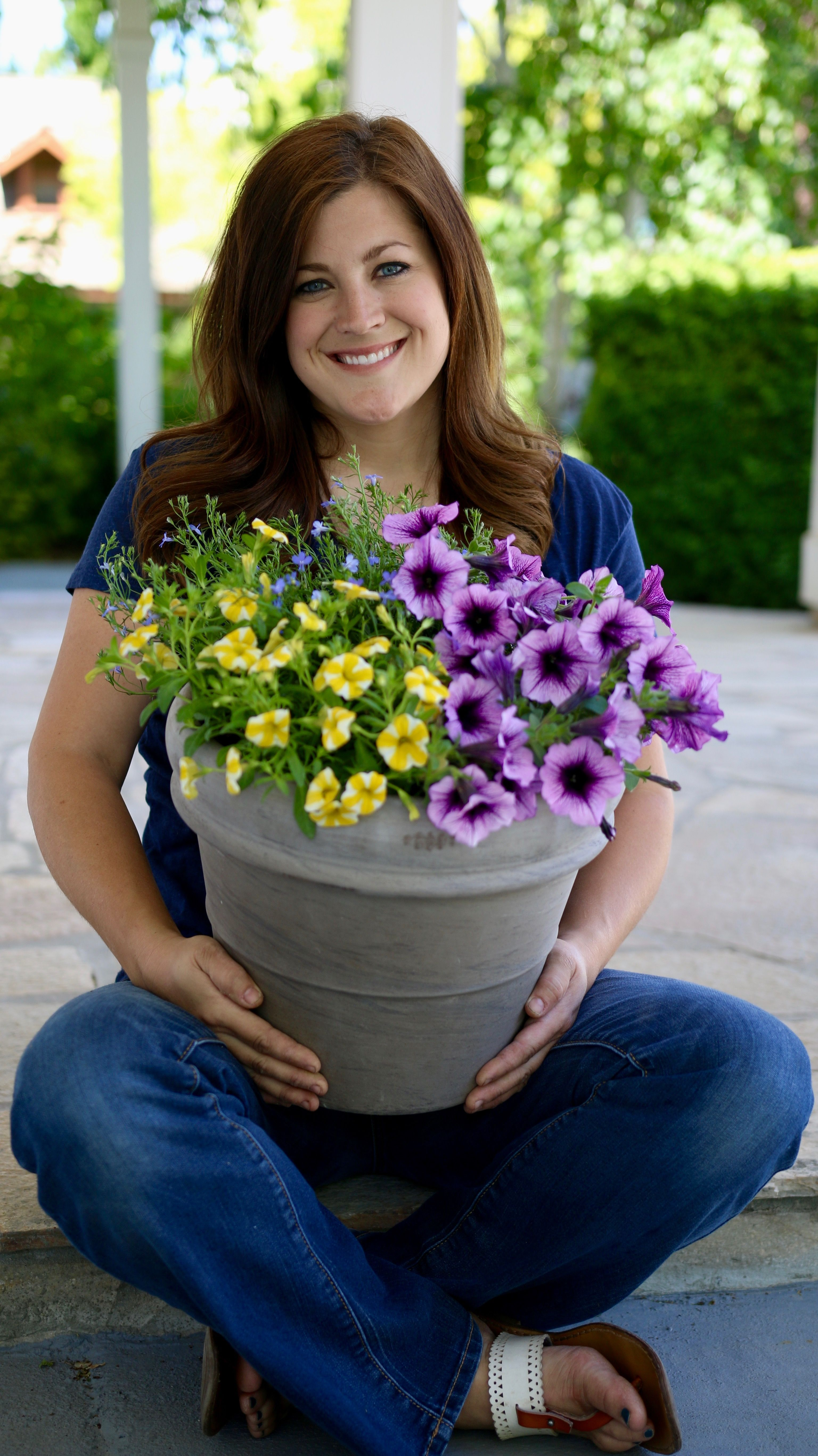 Laura From Garden Answer Will Show You How To Pot Up A Little