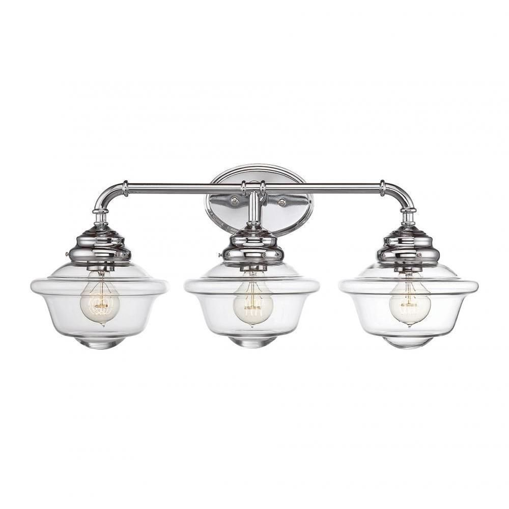 Filament Design McKay 3-Light Chrome Bath Vanity Light-CLI-SH0249273 - The  sc 1 st  Pinterest & Filament Design McKay 3-Light Chrome Bath Vanity Light | Bath ...