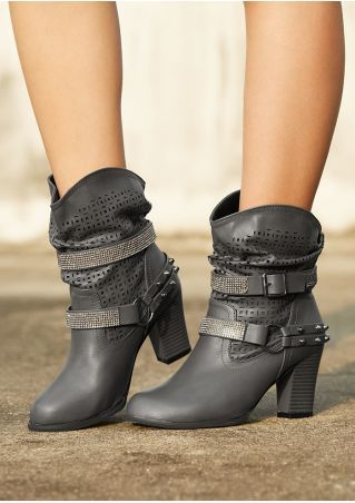 Shoes & Boots Women image by Lindacollection | Black heel ...