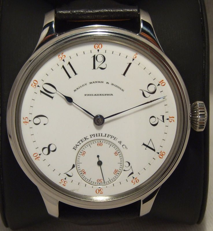 Patek Philippe Co Geneva Bailey Banks Biddle Q Chronometer Special Movement Vintage Watches Patek Philippe Watches