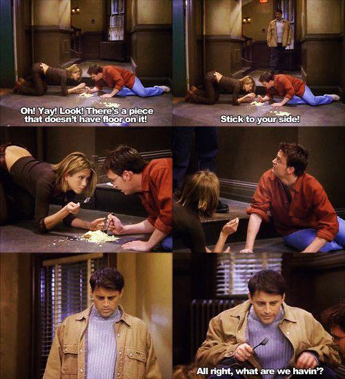 My favorite Joey Tribbiani moment - Imgur | Friends episodes, Friends  funny, Friend jokes
