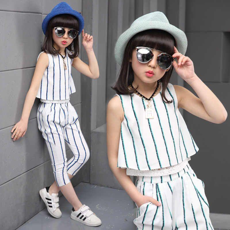 ملابس عصرية للبنات الصغيرات 2020 2021 اتجاهات وأنماط الصيف Kids Fashion Clothes Girls Clothing Sets Dresses Kids Girl