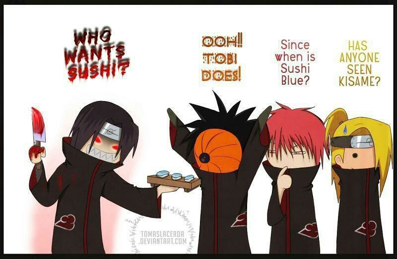 Image result for confused  akatsuki shopping
