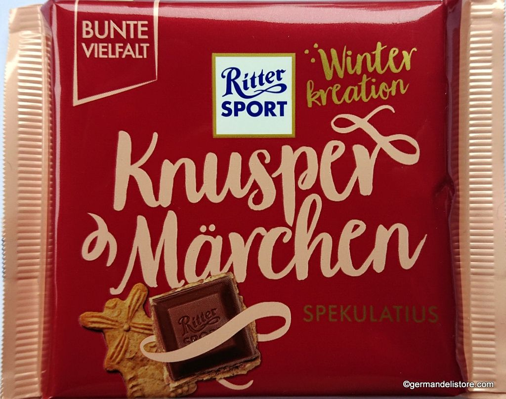 Ritter Sport Winter Edition Speculatius 100g in 2020
