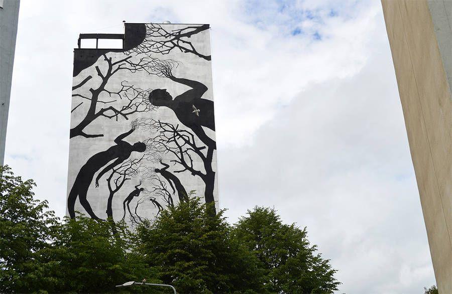 David de la Mano -Pablo Herrero #streetart #graffiti