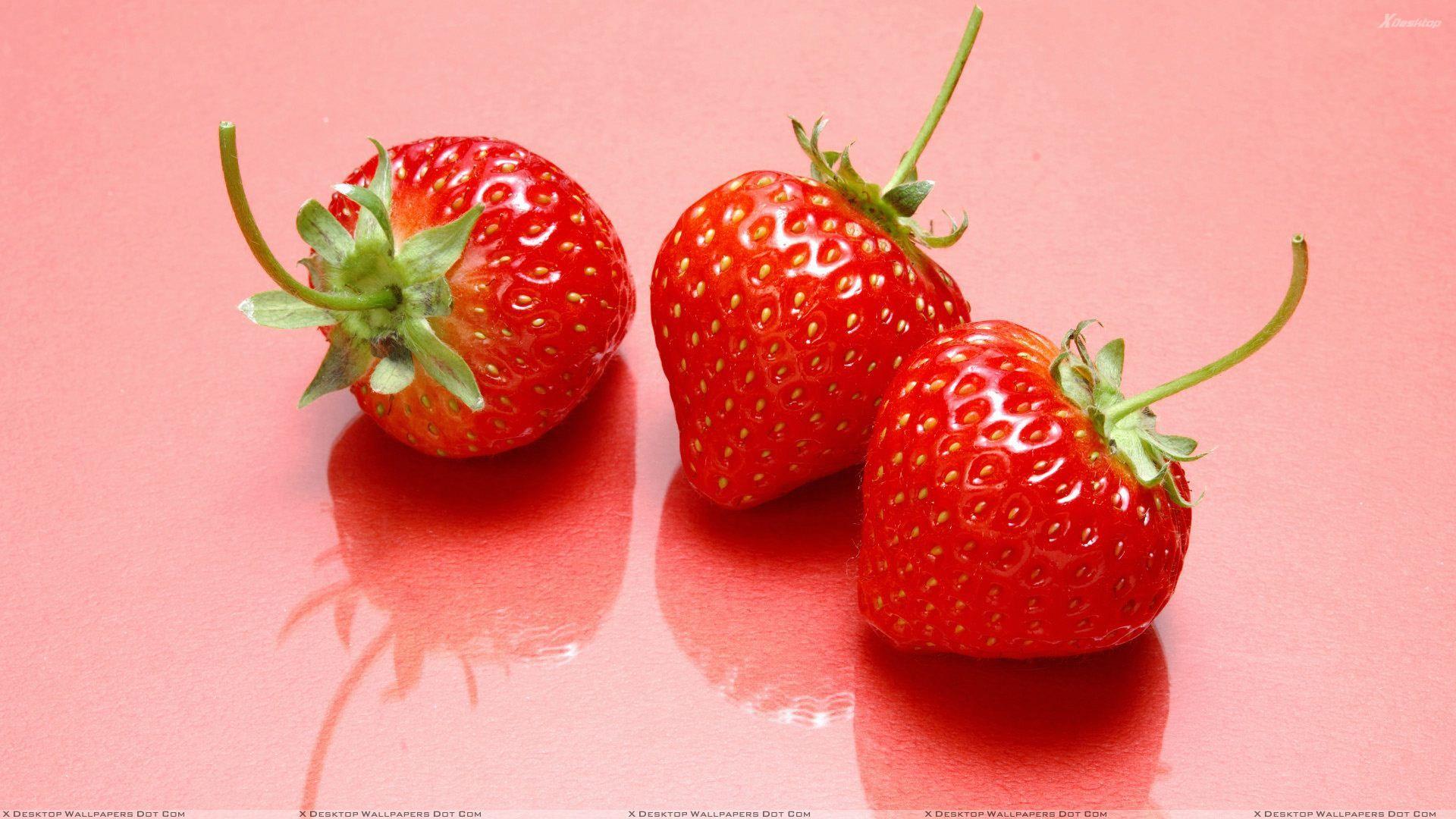 Strawberry fruit wallpaper, Fruit ...