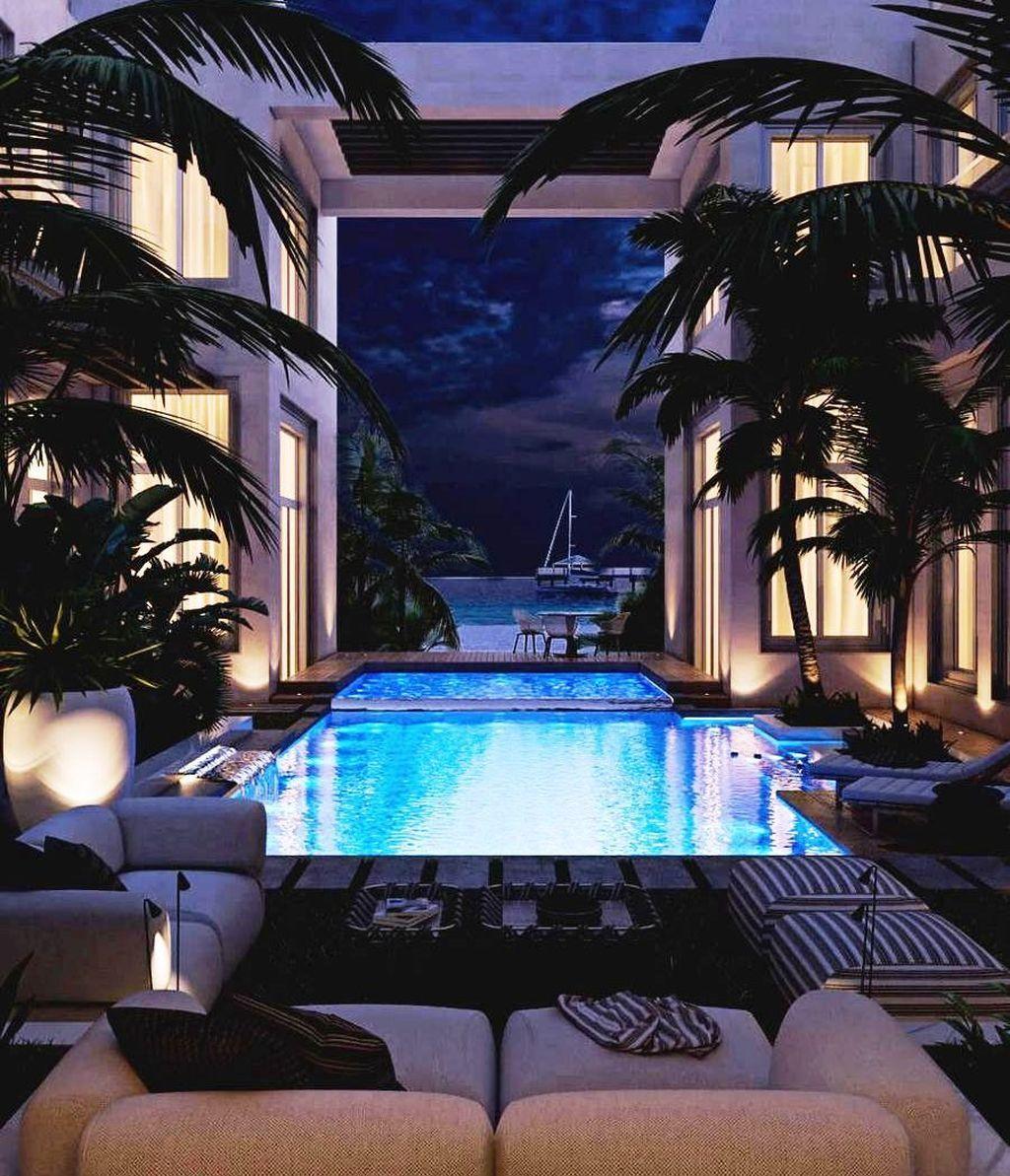 49 Fantastic Luxury Garden Decor Ideas Appartement Luxe Penthouse De Luxe Maison De Luxe