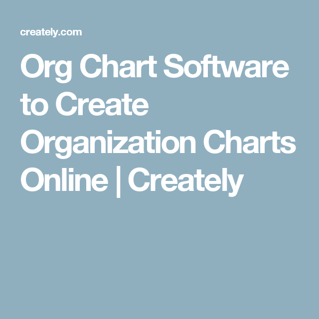 org chart software to create organization charts online creately - Create Organization Chart Online
