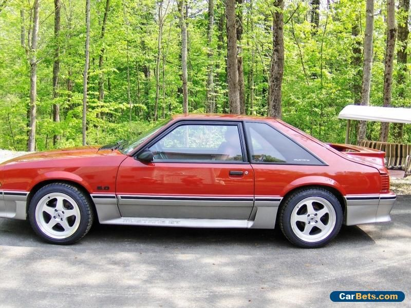 1988 Ford Mustang Gt Ford Mustang Forsale Unitedstates Ford Mustang Gt Ford Mustang Mustang