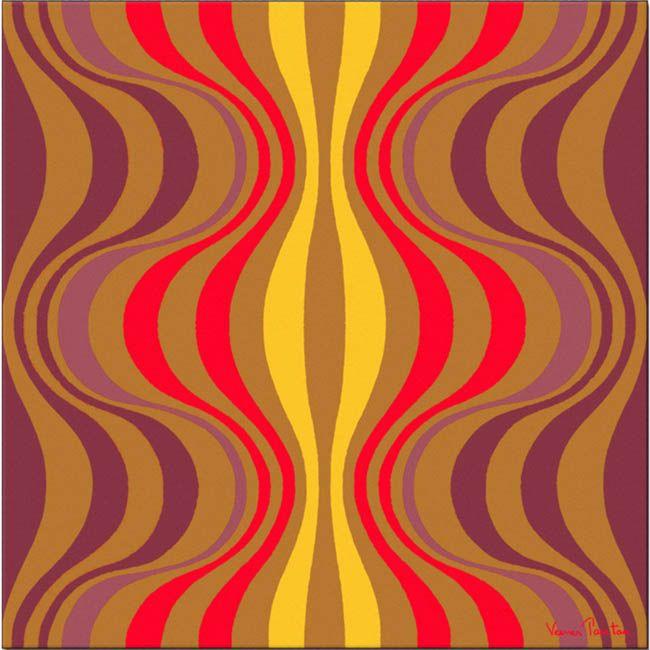 Le tapis ONION de Verner Panton des années 70. http://www ...