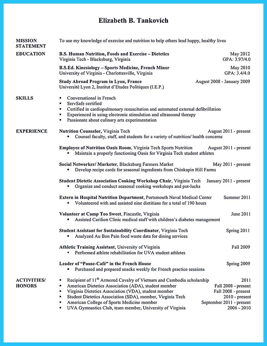 Cool Writing Your Athletic Training Resume Carefully Check More At