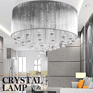Silver Moonlight Living Room Lights Crystal Modern Crystal Ceiling Light Bedroom Crystal Lamp Living Room Lighting Cheap Ceiling Lights Bedroom Ceiling Light