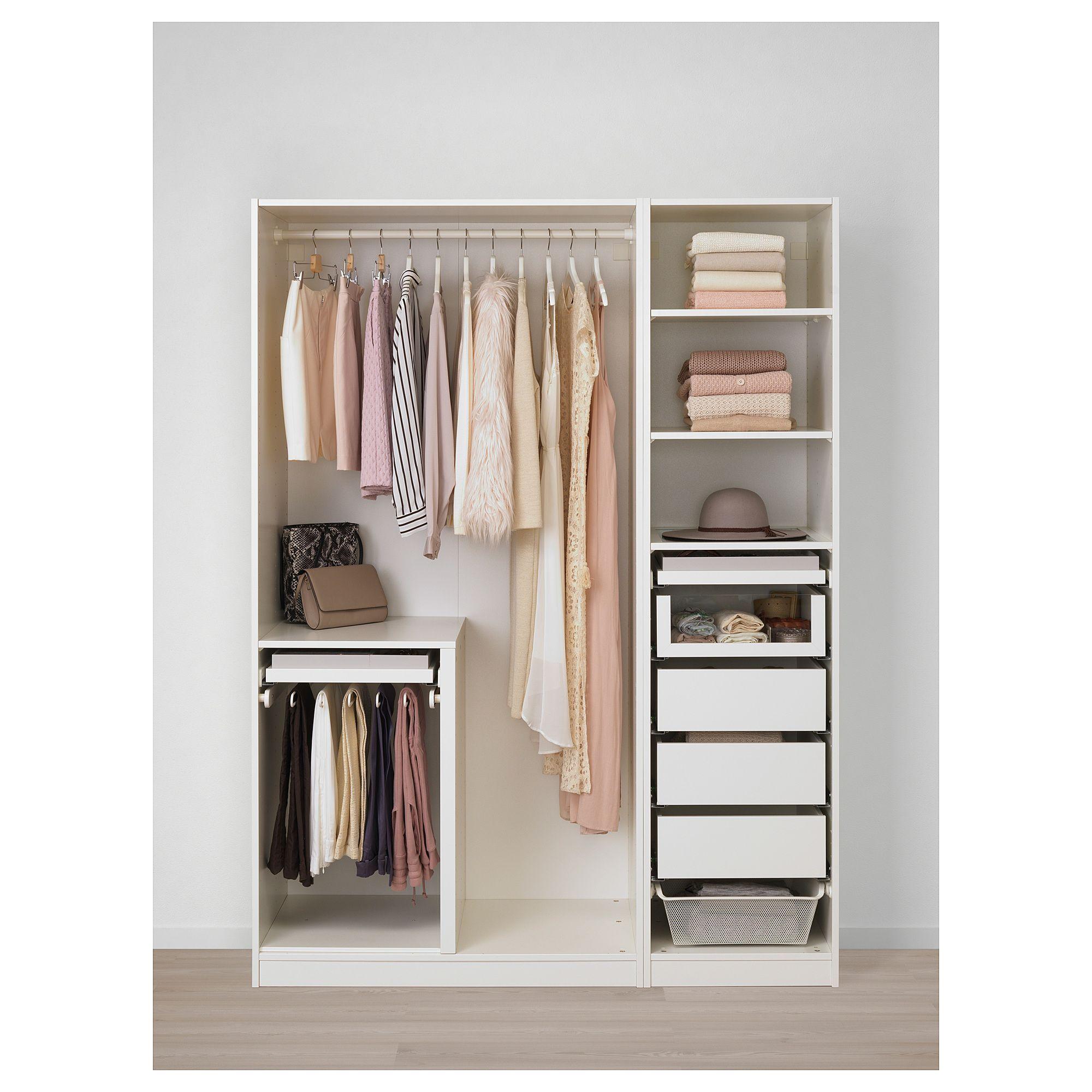 Pax Wardrobe White Tyssedal White 59x23 5 8x79 1 4