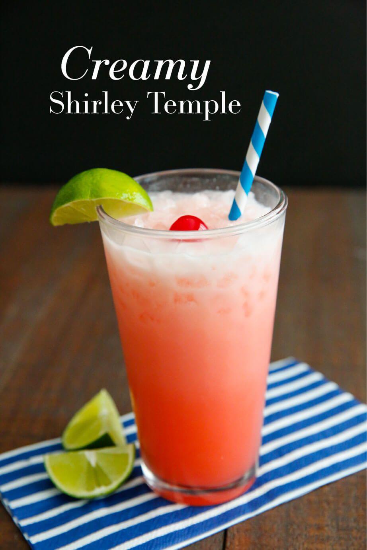 Creamy Shirley Temple | Rezept | Pinterest | Getränke