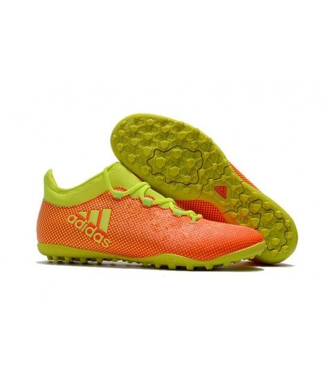 sale retailer 66d0f c9858 Cheap Adidas X TF Yellow Orange Football Boots Soccer Cleats Outlet