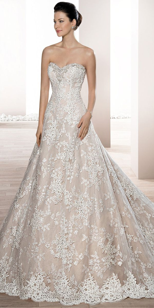 6ea45acb27 Exquisite Tulle & Lace Sweetheart Neckline A-line Wedding Dress With ...