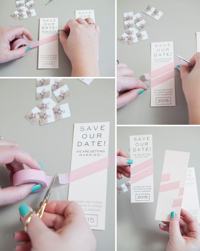 Make your own Instagram Save the Date Invitation Save the date