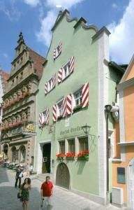 Rothenburg ob der Tauber, Germany   Great old hotel in a charming old town