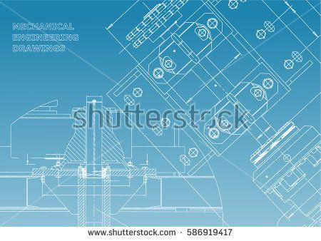 Blueprints mechanical construction technical design engineering blueprints mechanical construction technical design engineering cover banner white and blue malvernweather Images