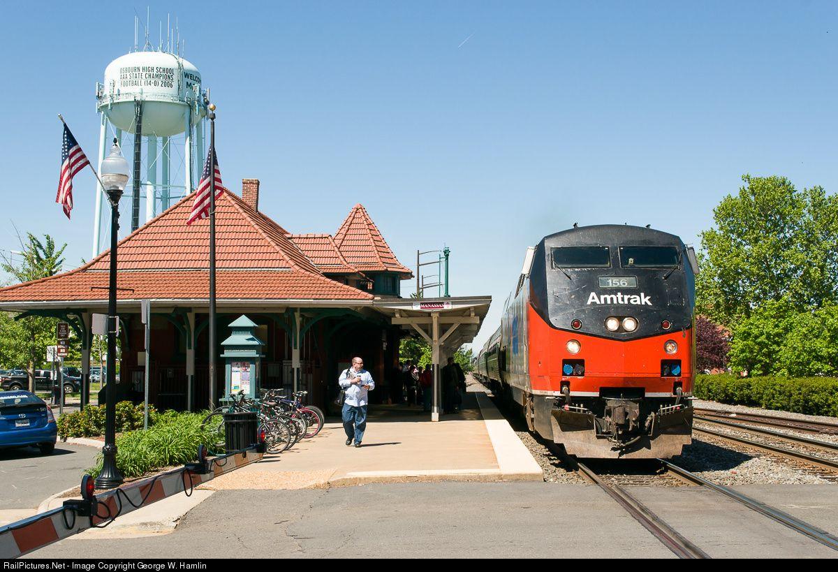 Photo AMTK 156 Amtrak GE P42DC at