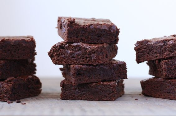 Basic Fudgy Brownies, a recipe on Food52