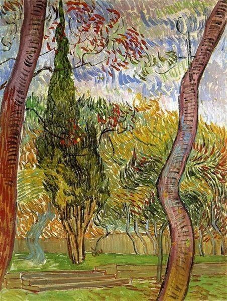 The Garden Of Saint-Paul Hospital 1889 | Vincent van Gogh
