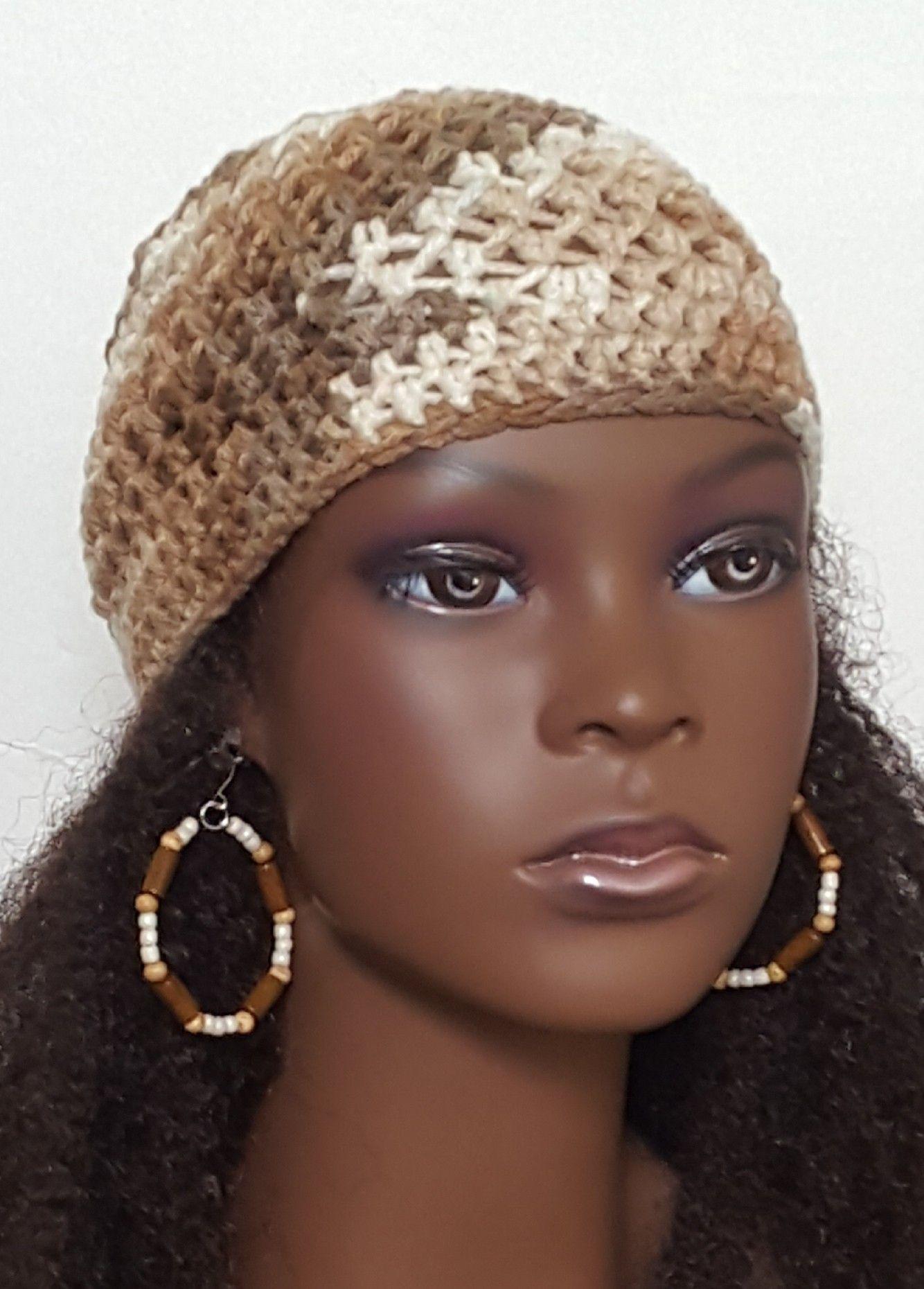 Crochet Skullcap And Earrings By Razonda Lee Crochet Skull Caps