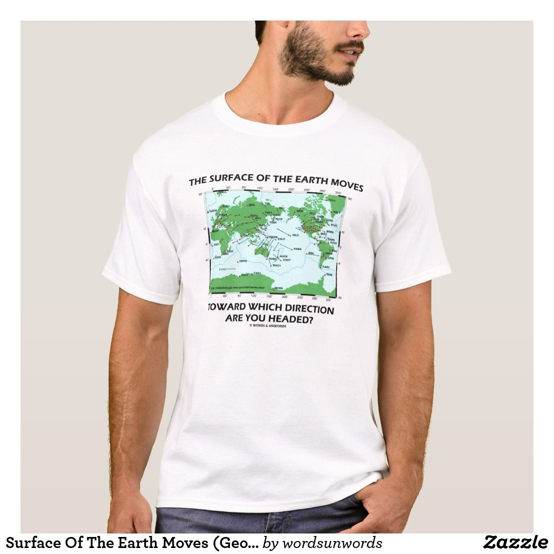 Surface Of The Earth Moves Geology Humor T Shirt