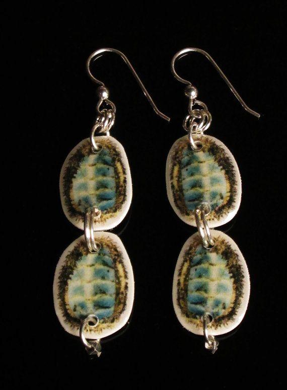 Double Chiton Earrings by ShannonTippleLeen on Etsy