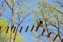 Things to Do with Kids: The Adventure Park of Long Island in Wheatley Heights offers treetop adventure challenges for kids and families. Opening Apr. 10. This and other fun things to do at: http://www.discoverlongisland.com/things/kids/