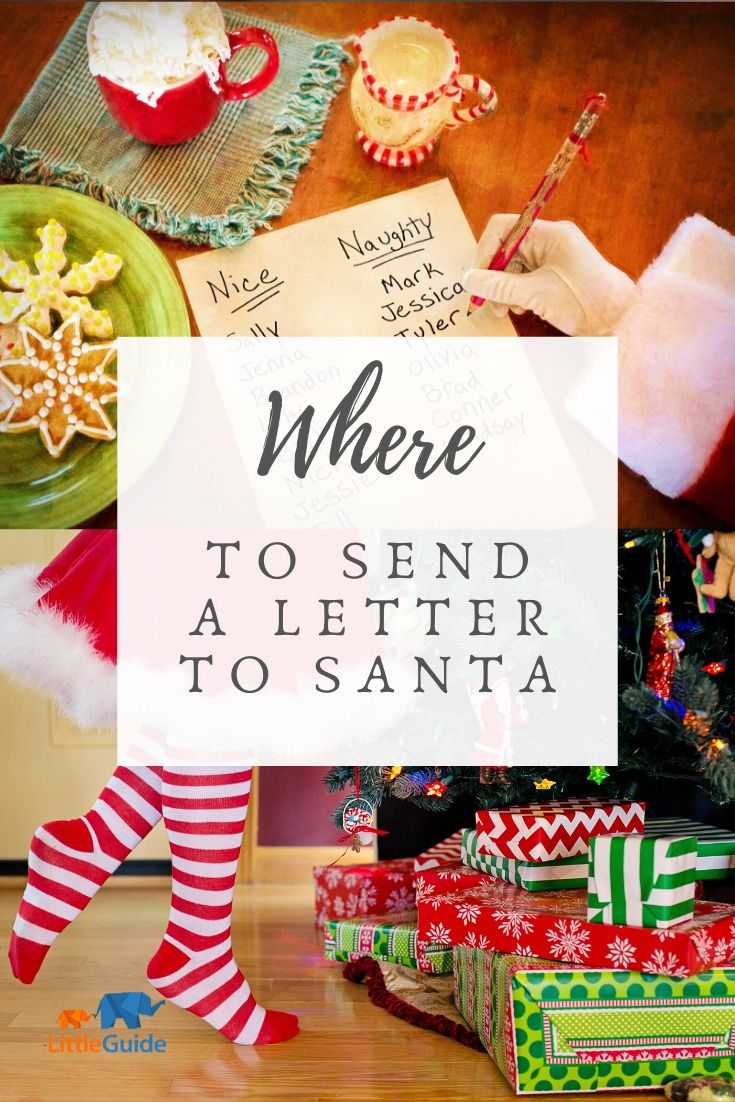 How to Write, Call & Track Santa Claus Santa letter